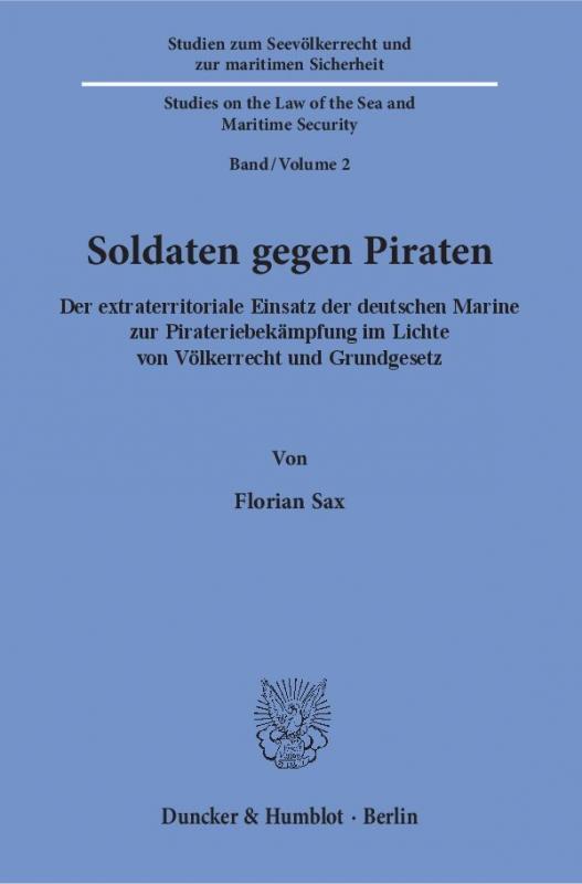 Cover-Bild Soldaten gegen Piraten.