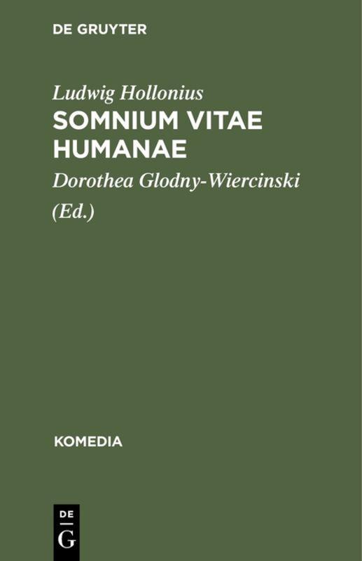 Cover-Bild Somnium Vitae Humanae