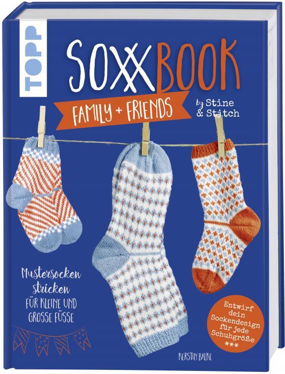 Cover-Bild SoxxBook family + friends by Stine & Stitch