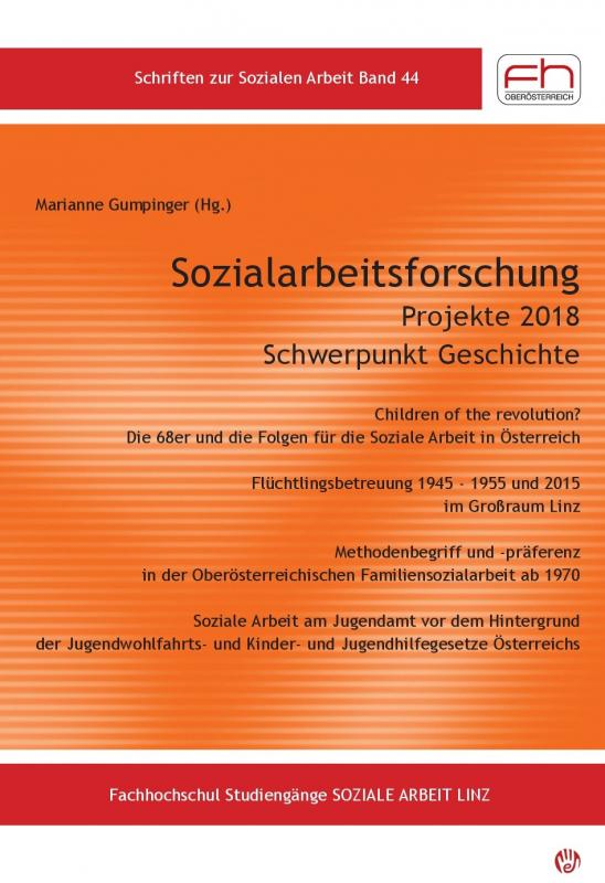 Cover-Bild Sozialarbeitsforschung Projekte 2018