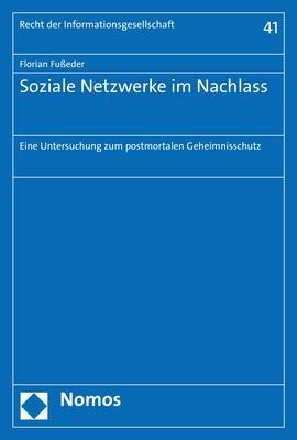 Cover-Bild Soziale Netzwerke im Nachlass
