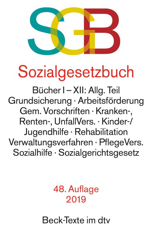 Cover-Bild Sozialgesetzbuch mit Sozialgerichtsgesetz
