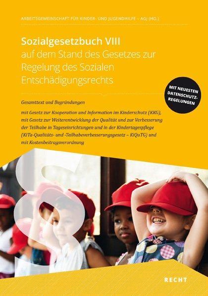 Cover-Bild Sozialgesetzbuch VIII auf dem Stand des Gesetzes zur Regelung des Sozialen Entschädigungsrechts