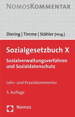 Cover-Bild Sozialgesetzbuch X