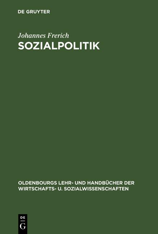 Cover-Bild Sozialpolitik