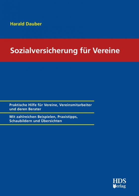 Cover-Bild Sozialversicherung für Vereine