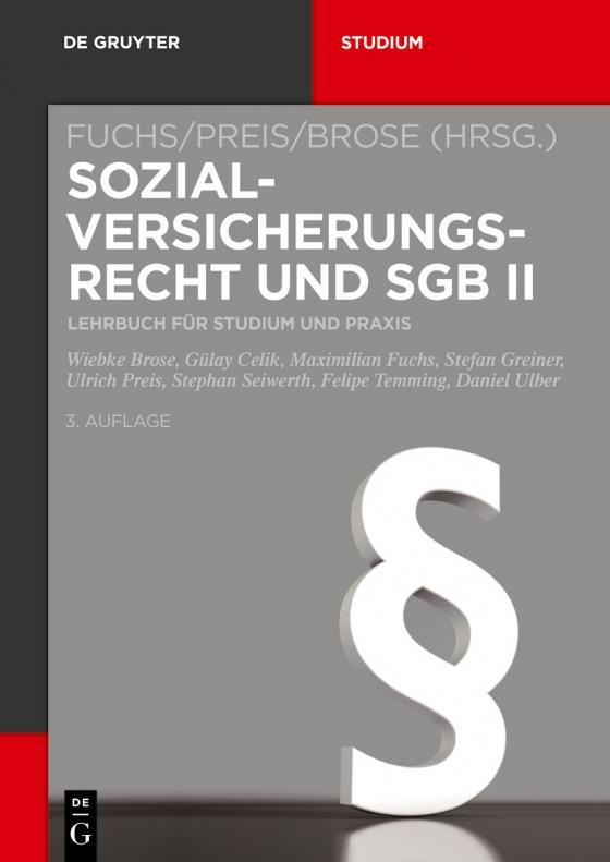 Cover-Bild Sozialversicherungsrecht und SGB II
