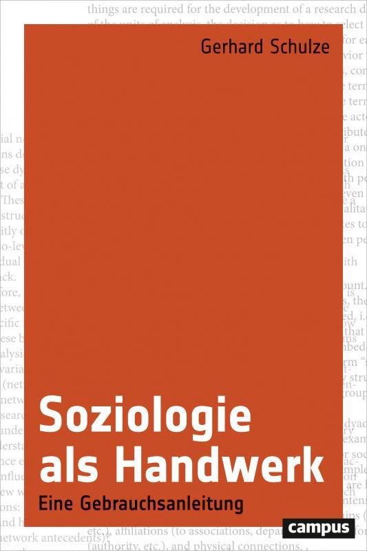 Cover-Bild Soziologie als Handwerk