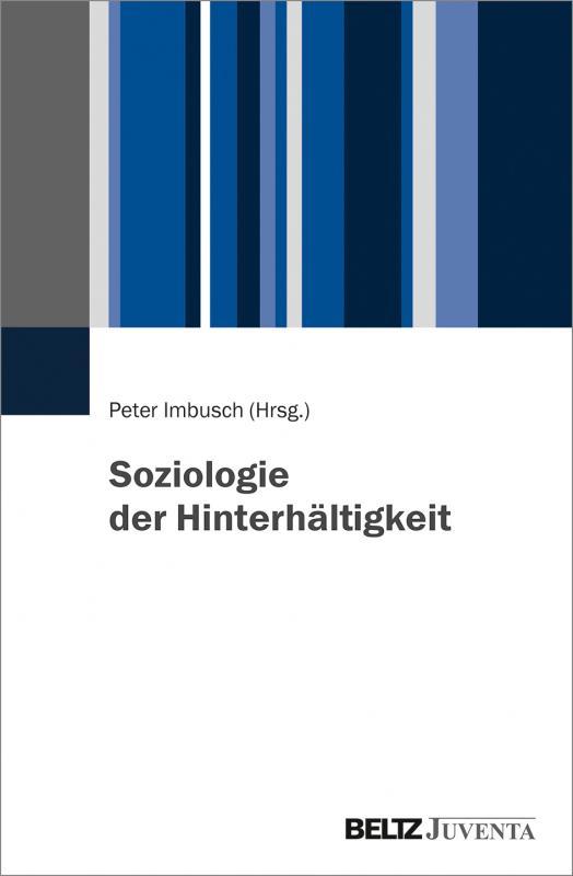 Cover-Bild Soziologie der Hinterhältigkeit