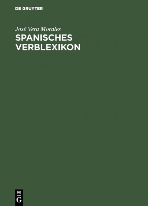 Cover-Bild Spanisches Verblexikon