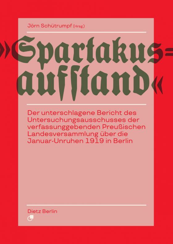 Cover-Bild Spartakusaufstand