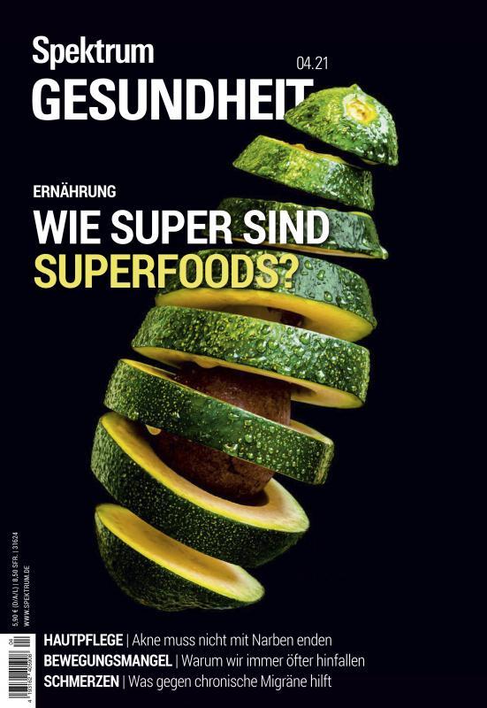Cover-Bild Spektrum Gesundheit- Wie super sind Superfoods?
