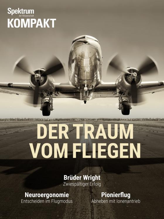Cover-Bild Spektrum Kompakt - der Traum vom Fliegen