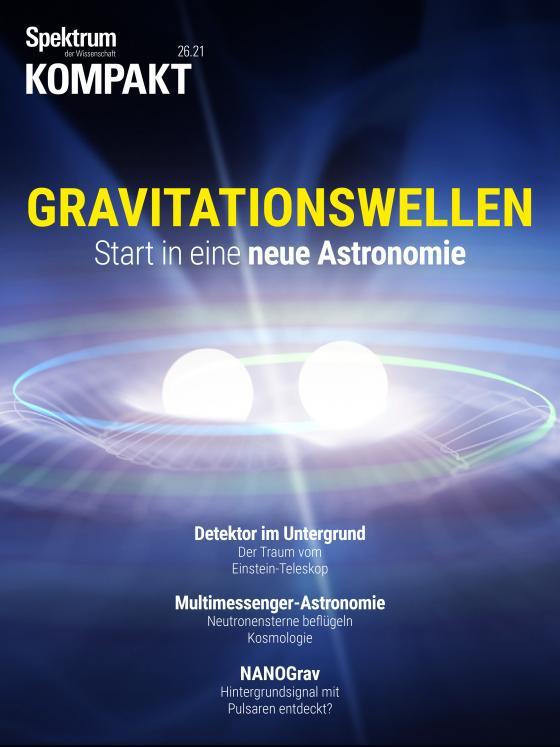 Cover-Bild Spektrum Kompakt - Gravitationswellen