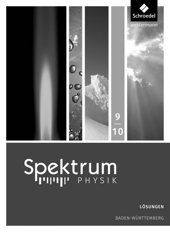 Cover-Bild Spektrum Physik SI / Spektrum Physik SI - Ausgabe 2017 für Baden-Württemberg