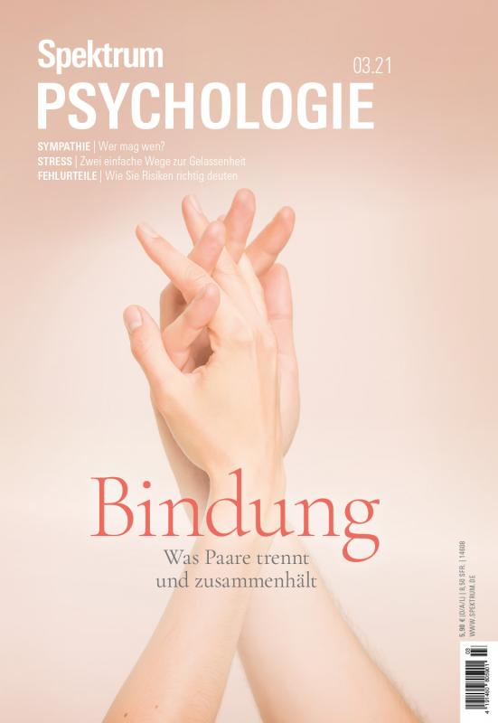 Cover-Bild Spektrum Psychologie - Bindung