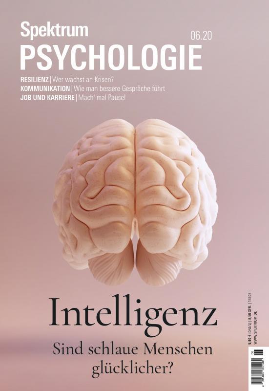Cover-Bild Spektrum Psychologie - Intelligenz