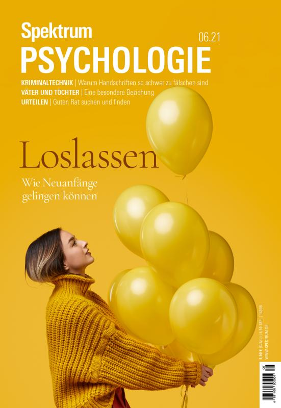 Cover-Bild Spektrum Psychologie - Loslassen