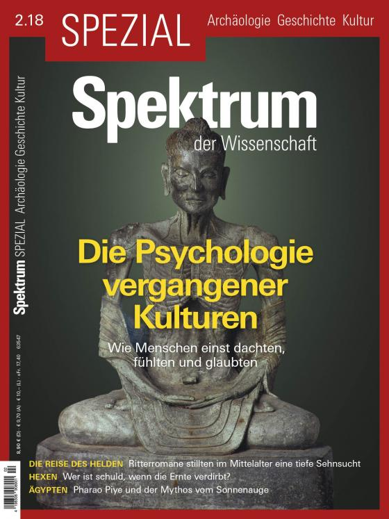 Cover-Bild Spektrum Spezial - Die Psychologie vergangener Kulturen