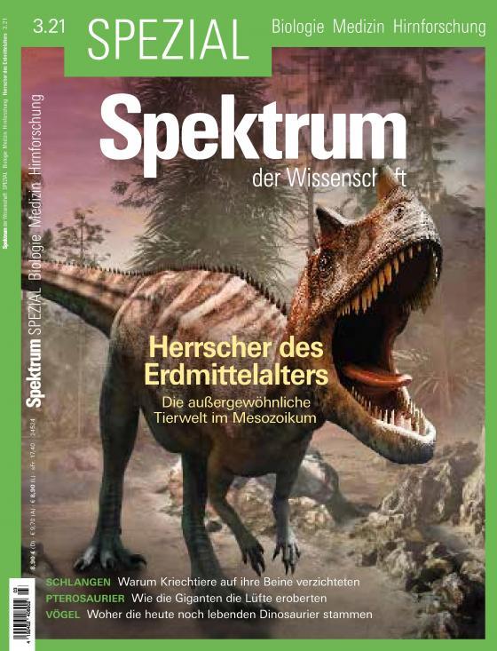 Cover-Bild Spektrum Spezial - Herrscher des Erdmittelalters