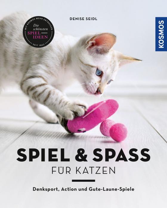 Cover-Bild Spiel & Spaß für Katzen