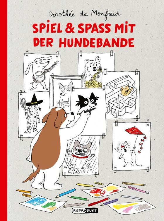 Cover-Bild Spiel & Spaß mit der Hundebande