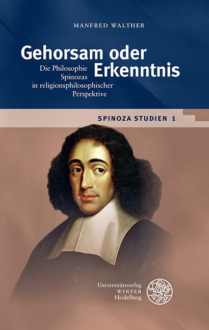 Cover-Bild Spinoza-Studien / Gehorsam oder Erkenntnis