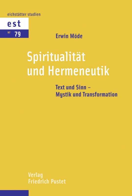 Cover-Bild Spiritualität und Hermeneutik