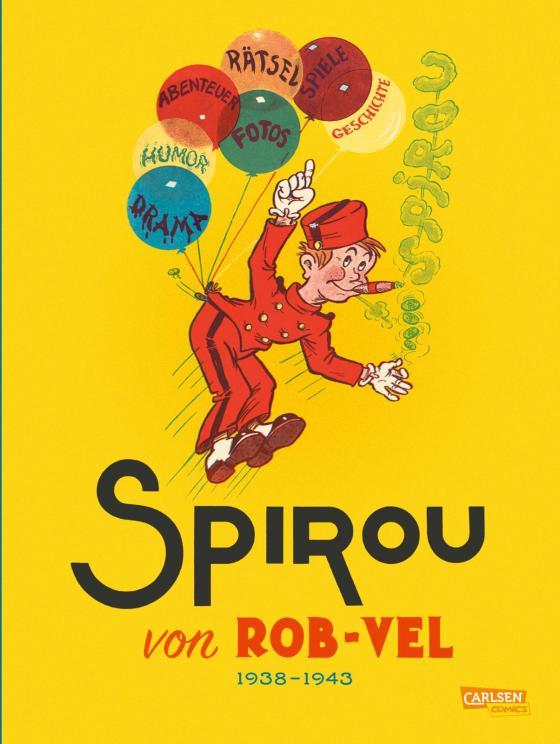 Cover-Bild Spirou und Fantasio Gesamtausgabe - Classic 1: 1938-1943
