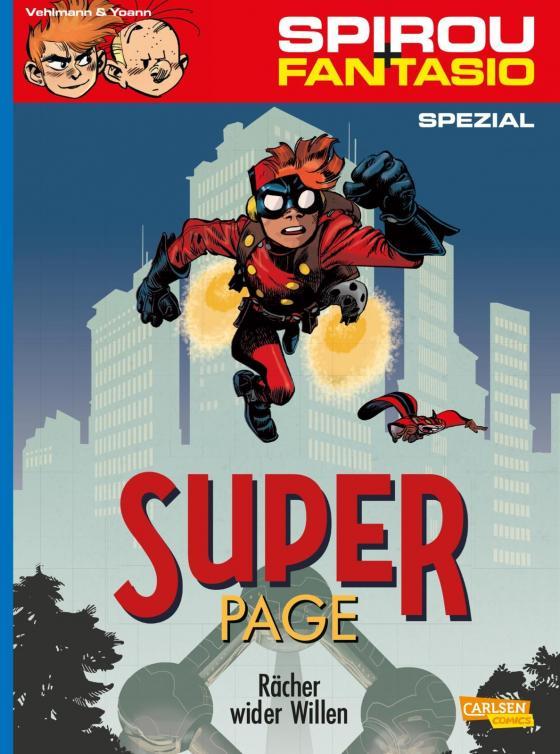 Cover-Bild Spirou und Fantasio Spezial 29: Der Superpage