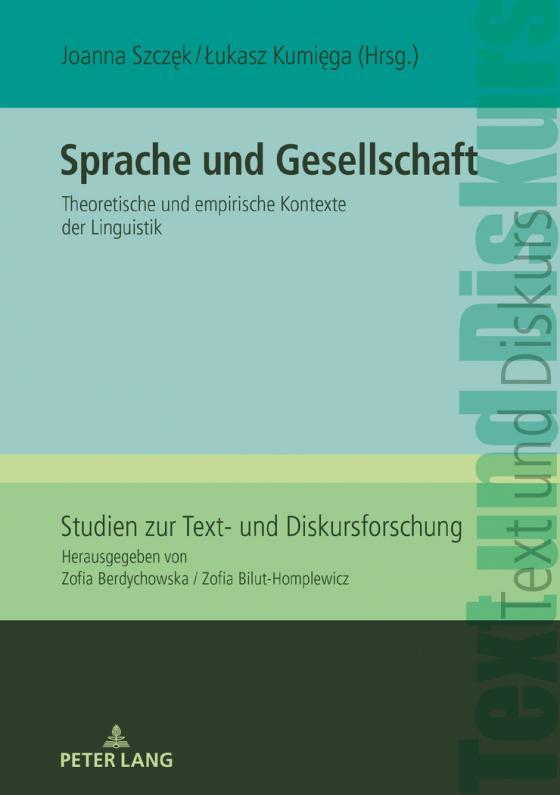 Cover-Bild Sprache und Gesellschaft