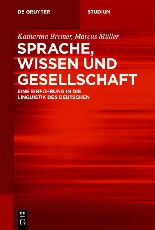 Cover-Bild Sprache, Wissen und Gesellschaft