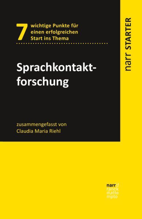 Cover-Bild Sprachkontaktforschung