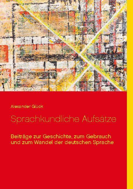 Cover-Bild Sprachkundliche Aufsätze.