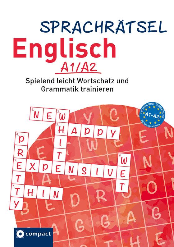 Cover-Bild Sprachrätsel Englisch – A1/A2