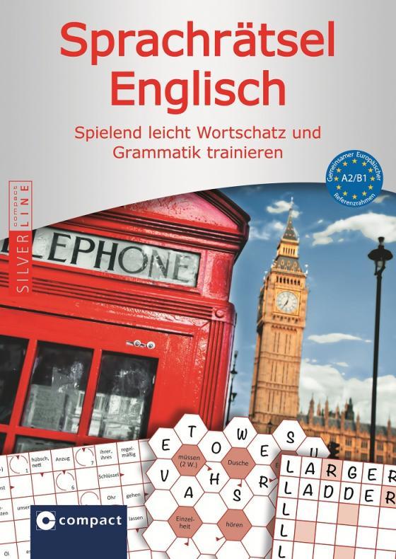 Cover-Bild Sprachrätsel Englisch - A2 & B1