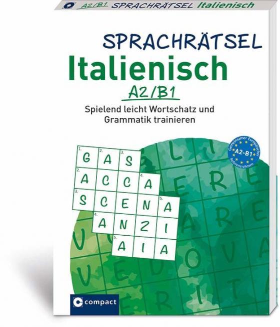 Cover-Bild Sprachrätsel Ialienisch A2/B1