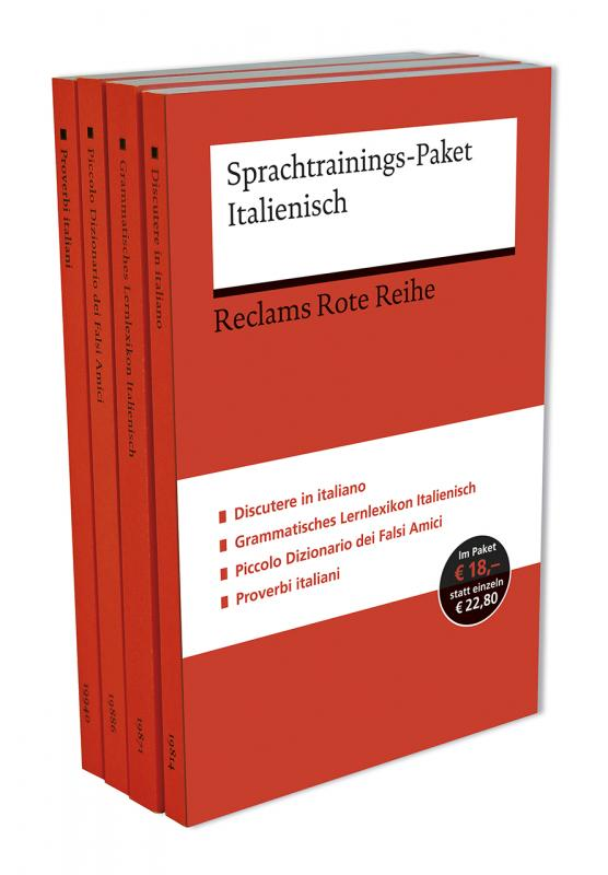 Cover-Bild Sprachtrainings-Paket Italienisch