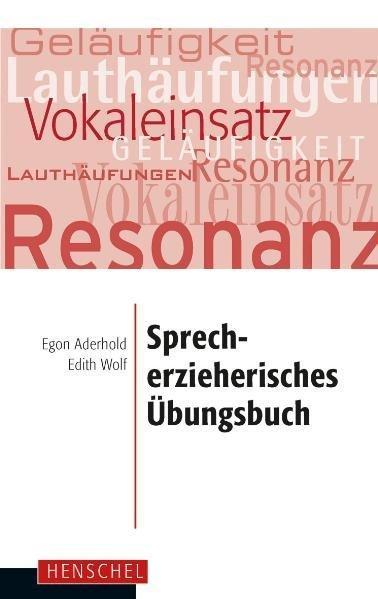 Cover-Bild Sprecherzieherisches Übungsbuch