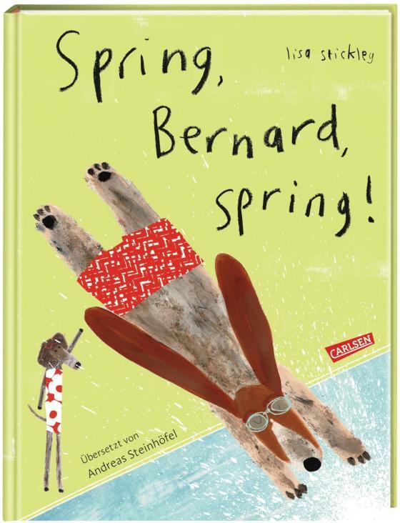 Cover-Bild Spring, Bernard, spring!
