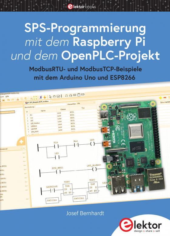 Cover-Bild SPS-Programmierung mit dem Raspberry Pi und dem OpenPLC-Projekt