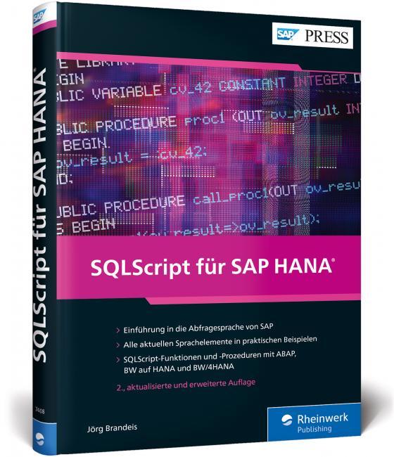 Cover-Bild SQLScript für SAP HANA