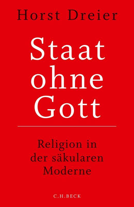 Cover-Bild Staat ohne Gott