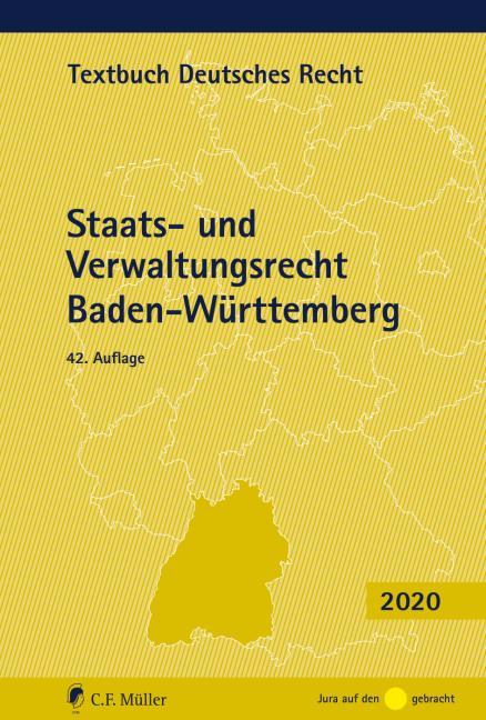 Cover-Bild Staats- und Verwaltungsrecht Baden-Württemberg