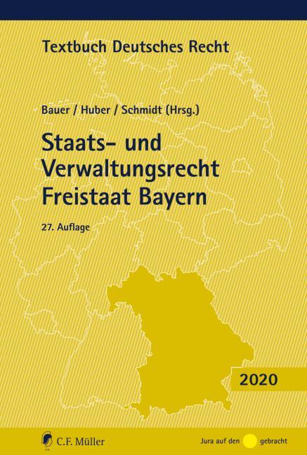 Cover-Bild Staats- und Verwaltungsrecht Freistaat Bayern
