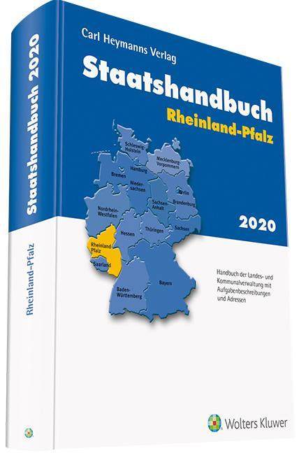 Cover-Bild Staatshandbuch Rheinland-Pfalz 2020