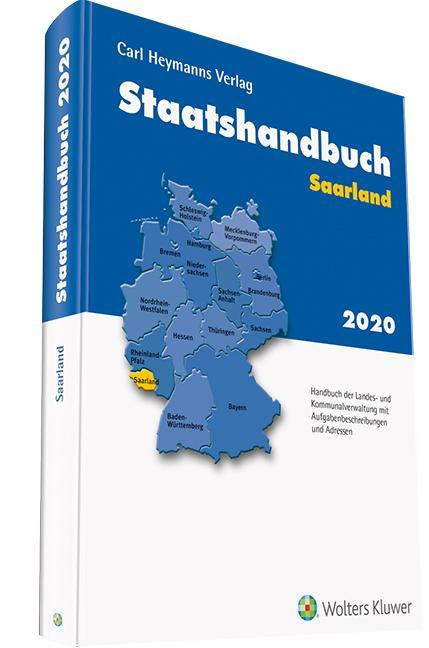 Cover-Bild Staatshandbuch Saarland 2020