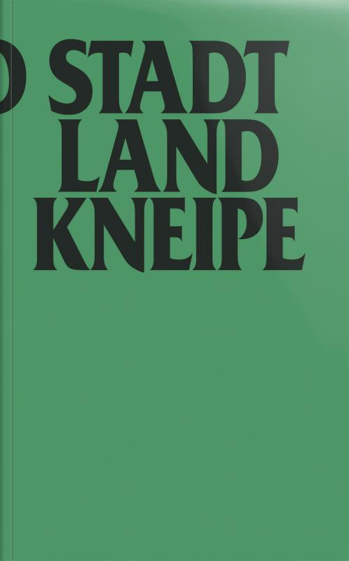 Cover-Bild Stadt, Land, Kneipe