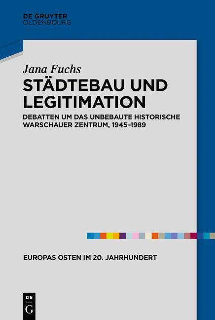 Cover-Bild Städtebau und Legitimation