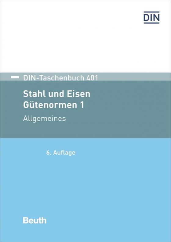 Cover-Bild Stahl und Eisen: Gütenormen 1